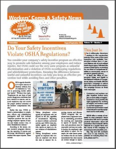 insurance newsletter samples WCS
